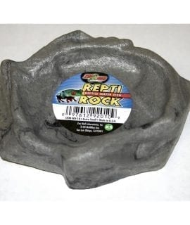 ZM Repti Rock Water Dish, X-Small, WD-10