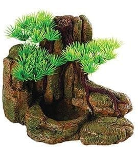 RS Bonsai with Rock Feeder 18.5x13x13.5cm FP27639