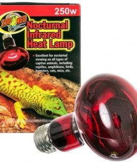 Zoo Med Infrared Heat Lamp 250W ES, RS-250